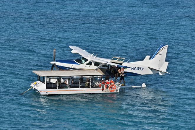 PLANES - Hamilton Island Reef Plane, Great Barrier Reef - 25/08/2013 ph. Andrea Francolini